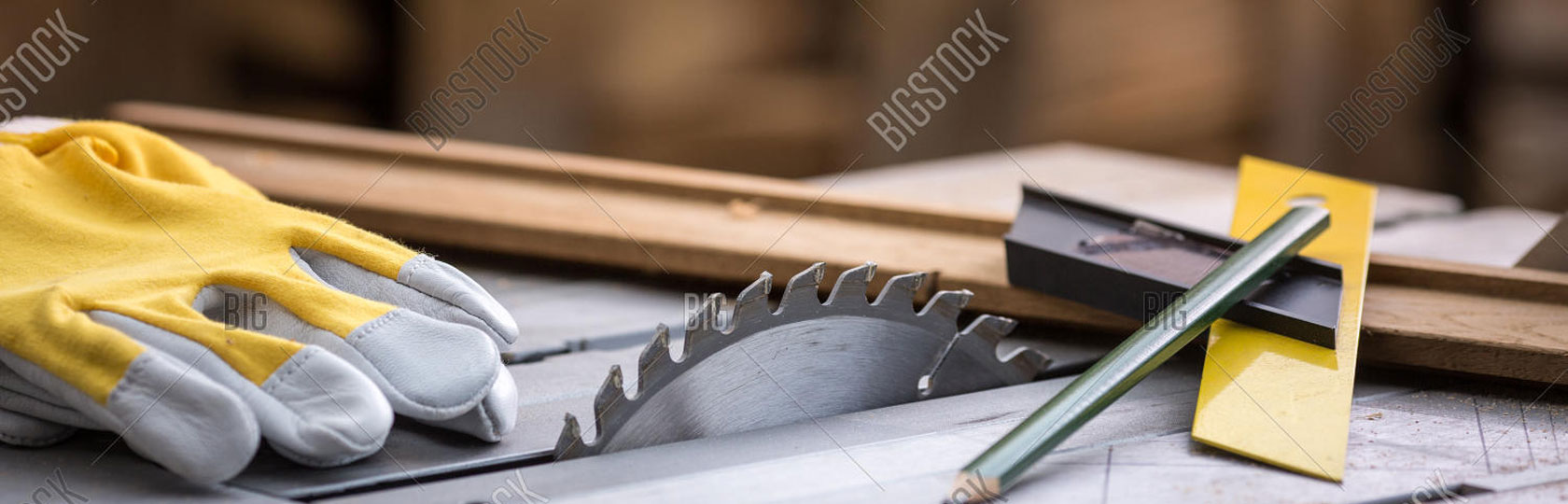 gloves table saw